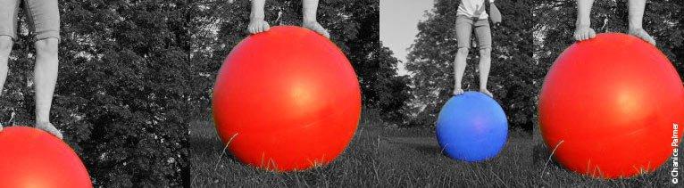 Walking Globes