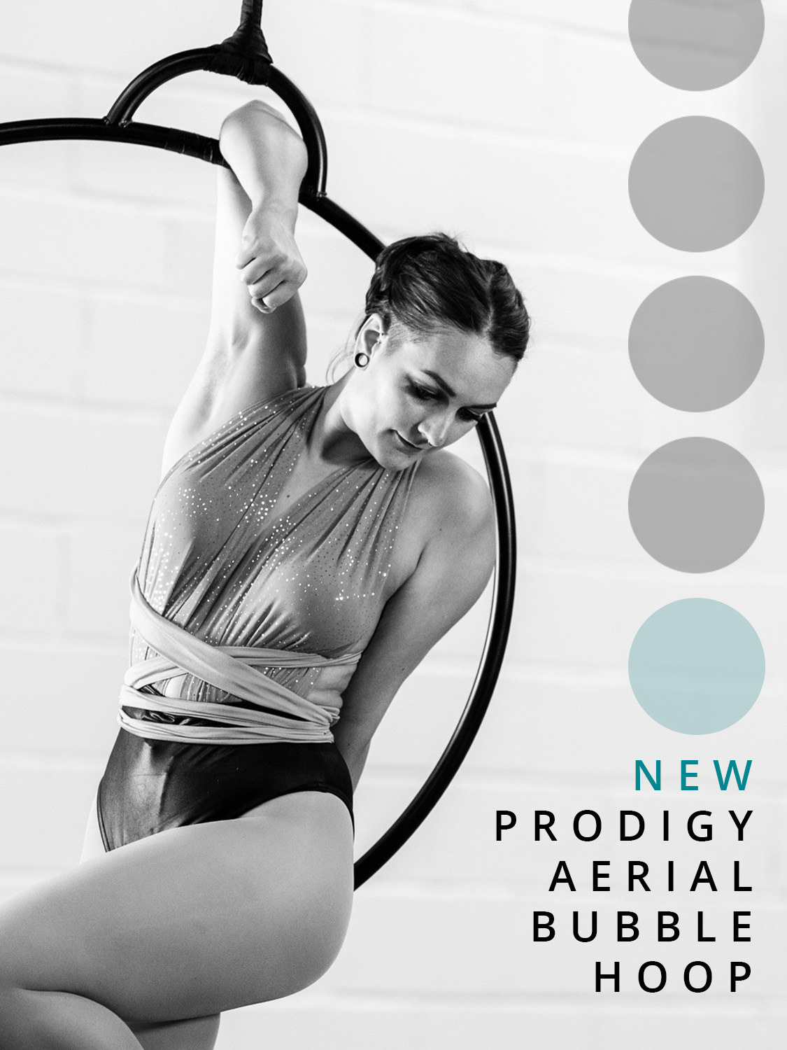The new Prodigy Aerial Bubble Hoop