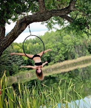 Aerial ring. Copyright Natalie Keller