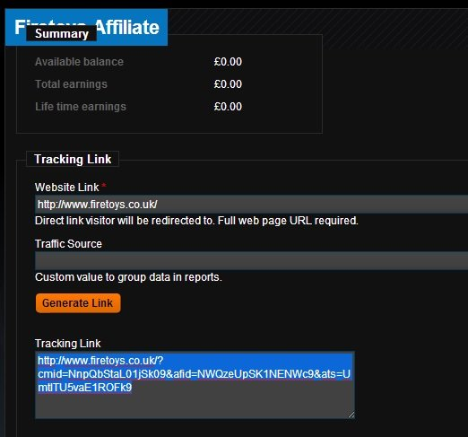 Tracking Affiliate Link